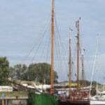 Petrine im Hafen von Vitte
