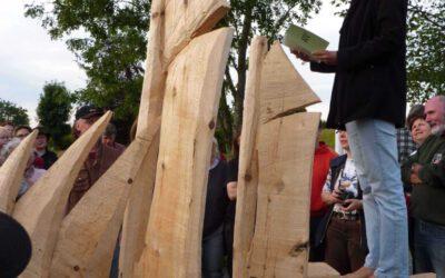 Holzmodell der Petrine