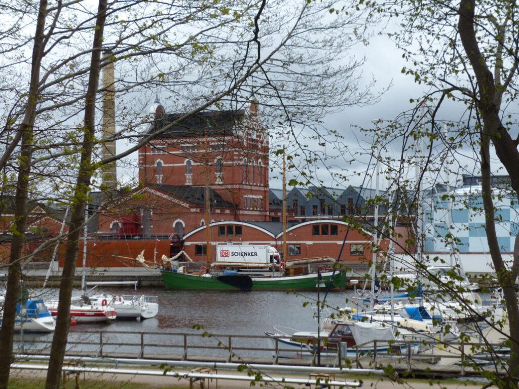 Liegeplatz der Petrine im schwedischen Aahus